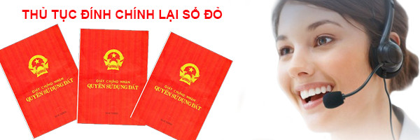 Thu tuc dinh chinh lai so do
