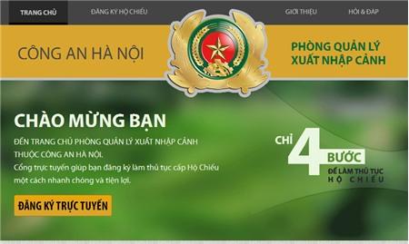 Thủ tục cấp hộ chiếu tại Hà Nội