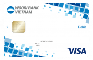 The Woori Visa debit