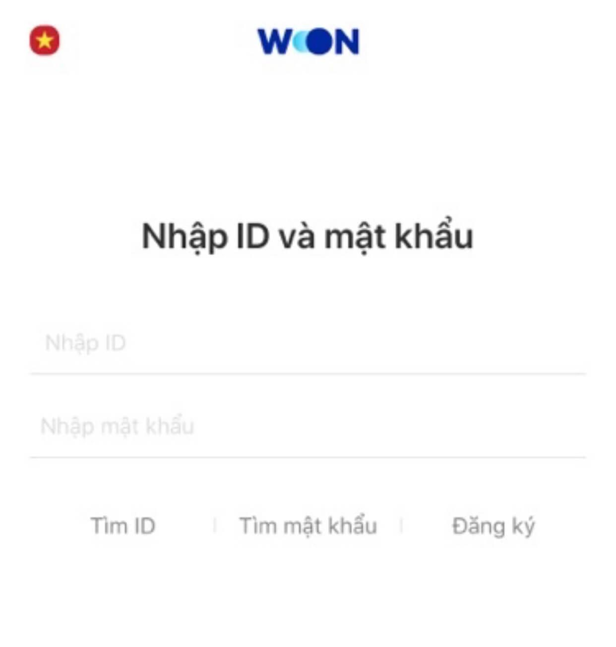 WON APP Wooribank Vietnam